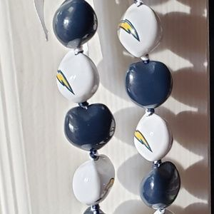 🍍San Diego Chargers Kukui Nut Lei